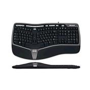 Microsoft 4000 Natural Ergonomic Curved Keyboard 4000 USB port