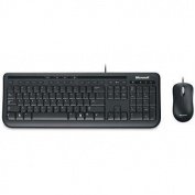 MICROSOFT USB Wired Desktop 600 Keyboard and Optical Mouse combo retail boxed