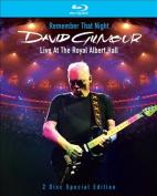 David Gilmour - Remember That Night - Live at the Royal Albert Hall [Blu-ray]