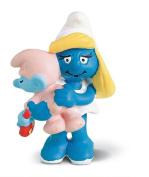 Schleich Smurfette with Baby