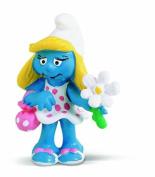 Schleich Smurfette with Flower