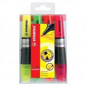 Stabilo 71/4 Luminator Highlighter Set/4 - Assorted