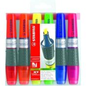 Stabilo 71/6 Luminator Highlighter Set/4 - Assorted