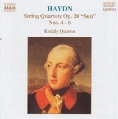 "Haydn: String Quartets, Op. 20 ""Sun"", Nos. 4-6"