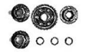 Tamiya 50506 Spare Gear Set RC F1 [Toy]