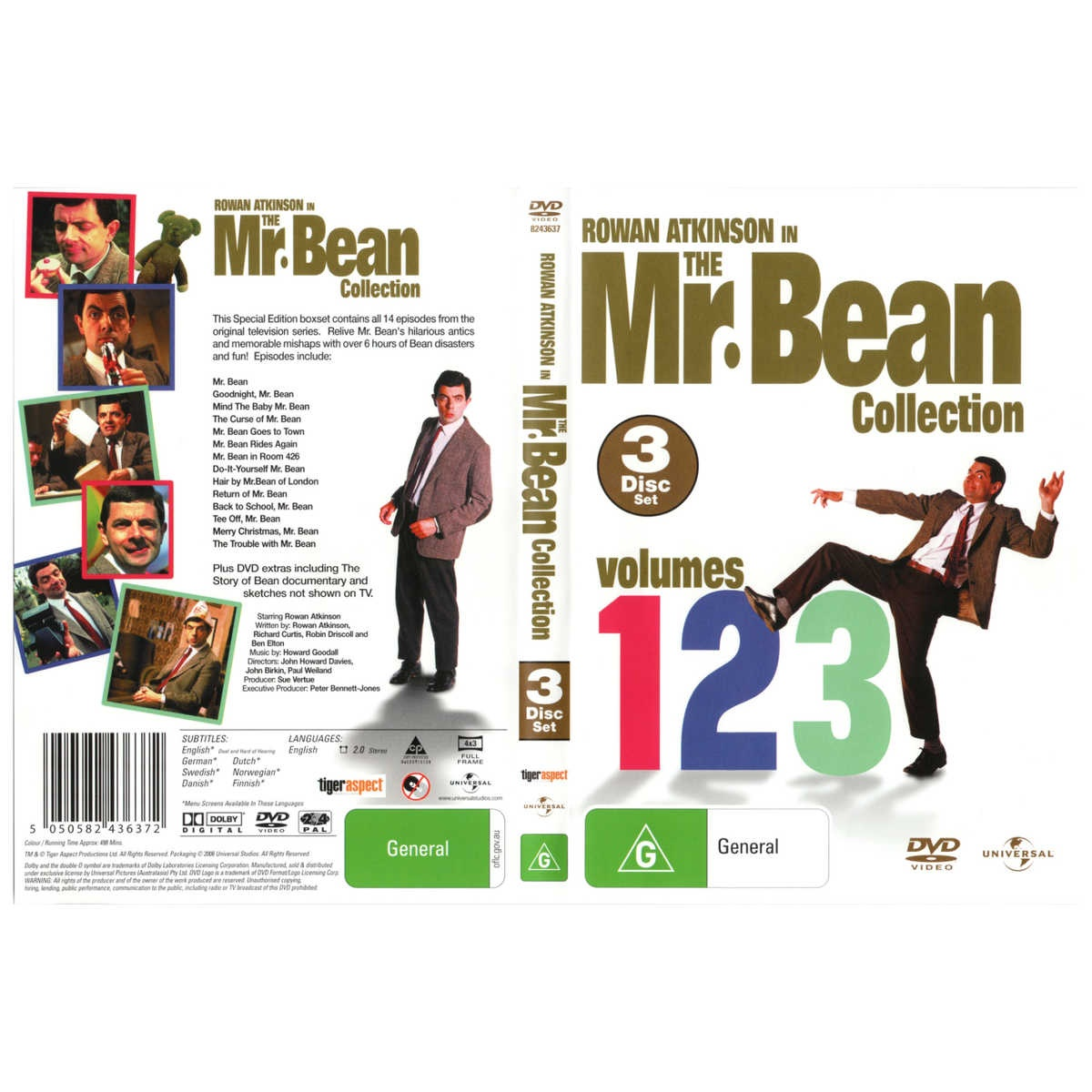 The Mr Bean Collection Volumes 1 2 3 By Universal Shop Online