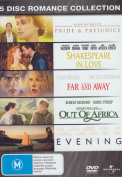 Evening / Far and Away / Out of Africa / Pride and Prejudice / Shakespeare in Love [Region 4]