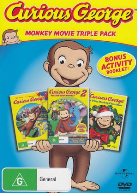Curious George / Curious George 2: Follow That Monkey / Curious George: A Very Monkey Christmas