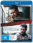 Robin Hood (2010) / Gladiator  [Region B] [Blu-ray]