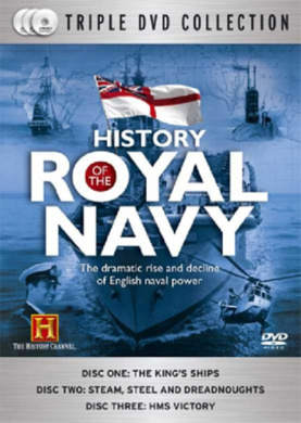 HISTORY OF THE ROYAL NAVY TRIPLE DVD COLLECTION WOODEN WALLS 1600 TO 1805