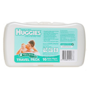 Huggies Baby Wipes Unscented Travel 16