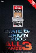 NRL - State Of Origin [3 Discs] [Region 4]