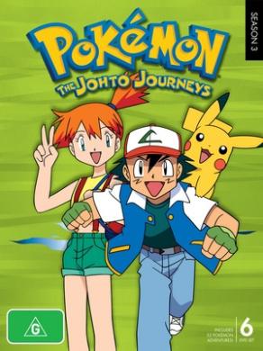 Pokemon: Season 3 - Johto Journeys