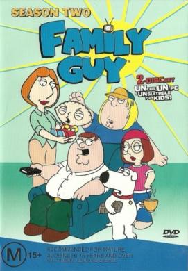 Family Guy Season 2 DVD 2Disc