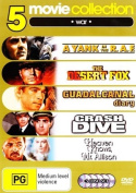 5 Movie Collection - War (A Yank In The R.A.F. / The Desert Fox / Guadalcanal Diary / Crash Dive / Heaven Knows Mr Allison) (5 D