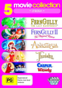 FernGully: The Last Rainforest / Anastasia (1997) / Casper meets Wendy  / Thumbelina / FernGully II [Region 4]