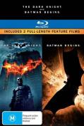 Batman Begins (2005) / The Dark Knight (2008)  [3 Discs] [Region B] [Blu-ray]