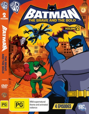 Batman the Brave and the Bold: Season 1 - Volume 2 (Animated)