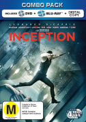 Inception Combo Pack [Region B] [Blu-ray]