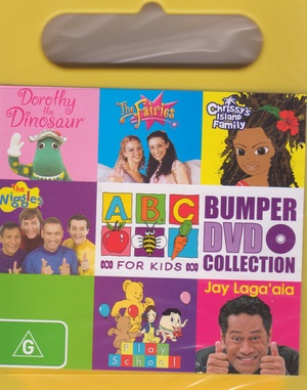abc for kids bumper dvd collection handle case by abc