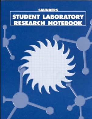 Saunders Student Laboratory Research Notebook (Long Version, Top Bound)
