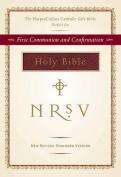 Harper Collins Catholic Gift Bible Burgundy