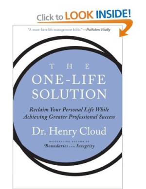 American Book 418979 The One-Life Solution: Reclaim Your Personal Life While Achieving Greater Professional Success