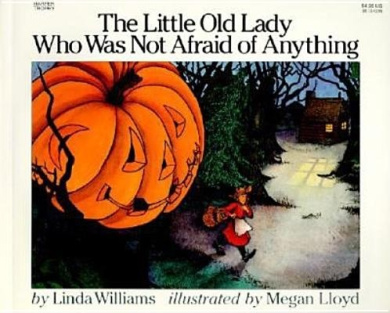 HARPER COLLINS PUBLISHERS HC-0064431835 THE LITTLE OLD LADY WHO WAS NO T AFRAID OF ANYTHING