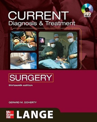 CURRENT Diagnosis and Treatment Surgery (Lange Current Series)
