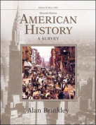 American History, Volume 2, with Powerweb