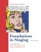 Audio CD Set for Use with Foundations in Singing