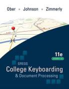 Gregg College Keyboarding & Document Processing, Kit 4