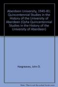 Aberdeen University, 1945-81
