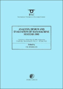 Analysis, Design and Evaluation of Man-Machine Systems 1995