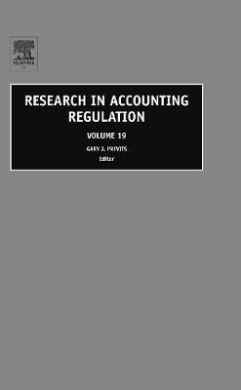 Research in Accounting Regulation (Research in Accounting Regulation)