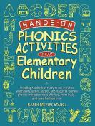 Hands on Phonics Activities for Elem Children