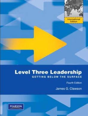Level Three Leadership: Getting Below the Surface: International Edition