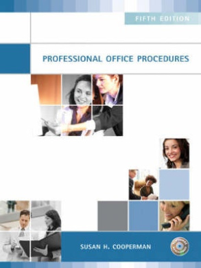 Professional Office Procedures [With CDROM]