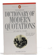 The Penguin Dictionary of Modern Quotations