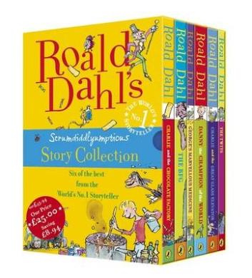 Roald Dahl's Scrumdiddlyumptious Story Collection