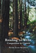 Reading to Write