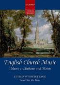 English Church Music, Volume 1