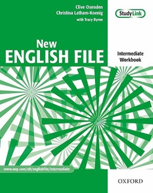 New English File: Intermediate: Workbook with key and MultiROM Pack: Six-level general English course for adults (New English File)