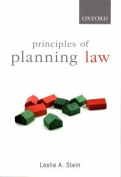 Principles of Planning Law