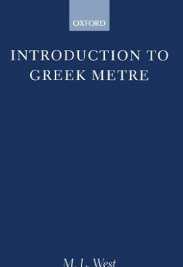 Introduction to Greek Metre (Clarendon Paperbacks)