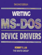 Writing M. S.-DOS Device Drivers