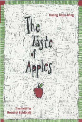 The Taste of Apples (Modern Chinese Literature from Taiwan S.)