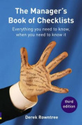 Manager's Book of Checklists