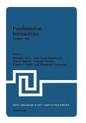 Fundamental Interactions, Cargaese, 1981