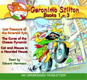 Geronimo Stilton Books 1-3: #1: Lost Treasure of the Emerald Eye; #2 [Audio]